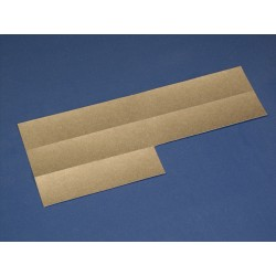 Papier-Einlage silber
