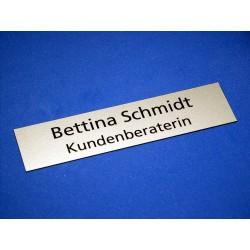 Einlage zu Tischnamensschild 1530 - 125mm