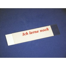 """Abdeckung zu Modell 1520 """"Ich lerne noch""""  (VE 10 Stück)"""