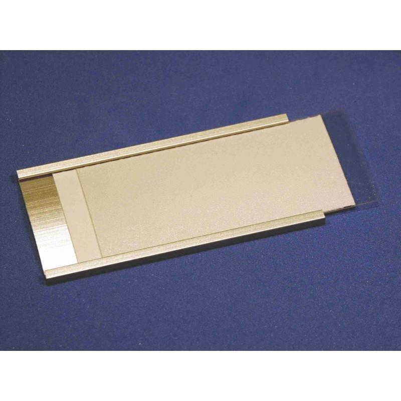 aluminium profil schilder zum selber beschriften. Black Bedroom Furniture Sets. Home Design Ideas